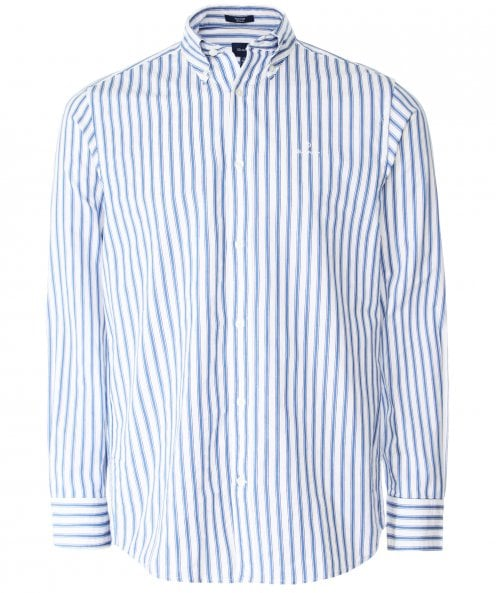 GANT Regular Fit Tech Prep Striped Shirt