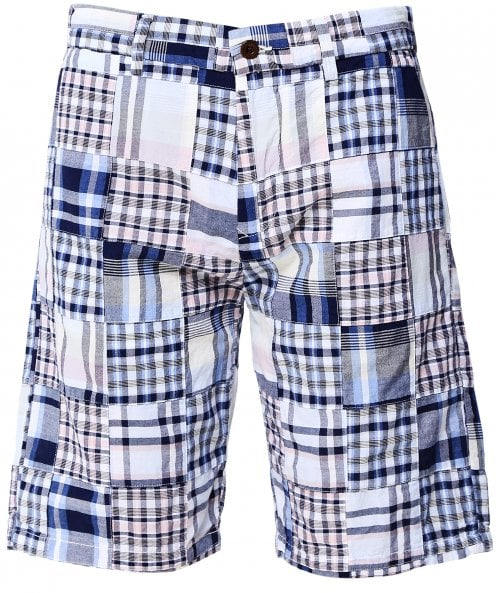 GANT Madras Cotton Check Shorts