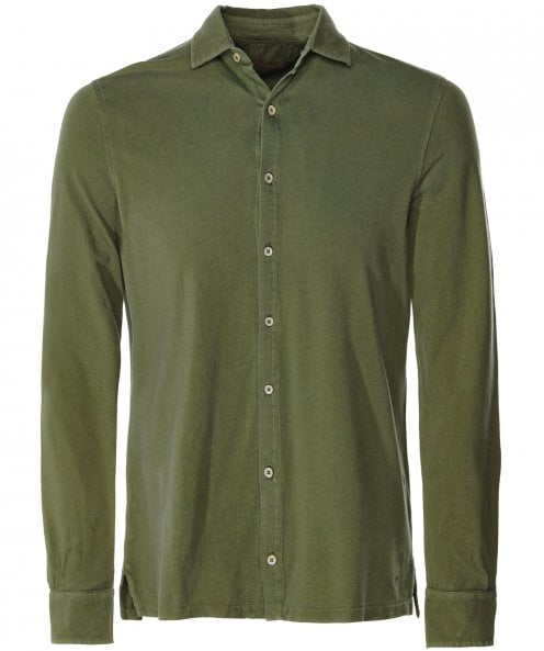 Stenstroms Pique Cotton Shirt