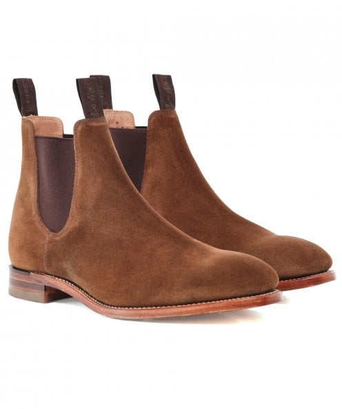 Loake Suede Apsley Chelsea Boots