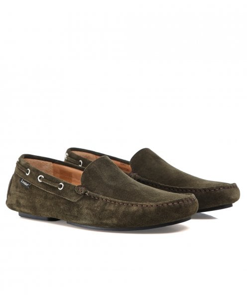 Loake Suede Donnington Driving Shoes