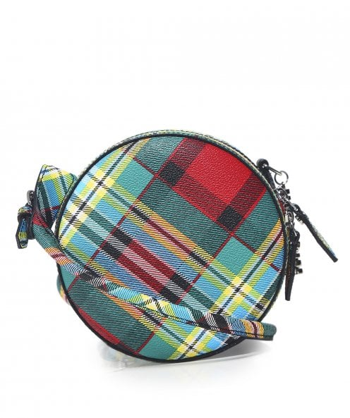 Vivienne Westwood Accessories Shuka Tartan Cross Body Bag