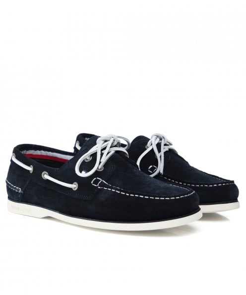 Tommy Hilfiger Classic Suede Boat Shoes