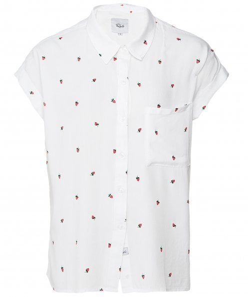 Rails Whitney Strawberry Fields Short Sleeve Shirt