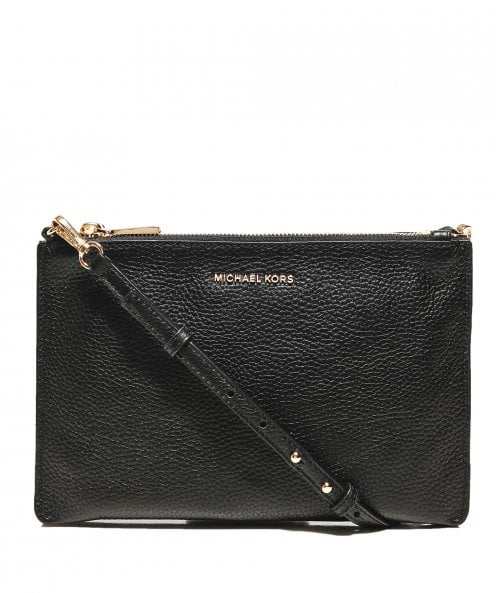 MICHAEL Michael Kors Pebbled Leather Double Pouch Crossbody Bag