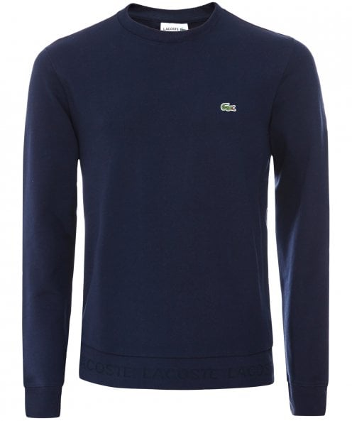 Lacoste Crew Neck Fleece Sweatshirt