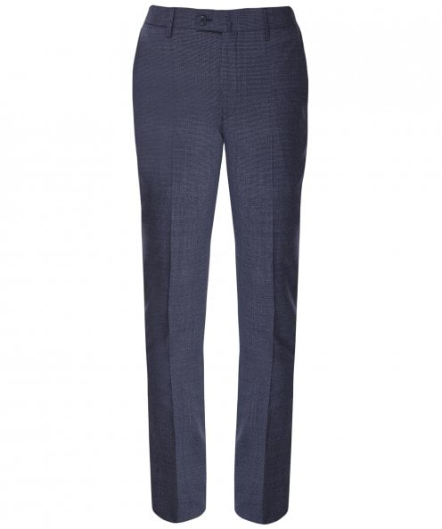 Hackett Mouliné Wool Puppytooth Trousers