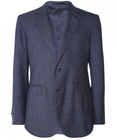 Hackett Mouliné Wool Puppytooth Jacket