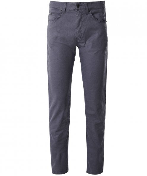 BOSS Slim Fit Textured Delaware3-1-20 Jeans