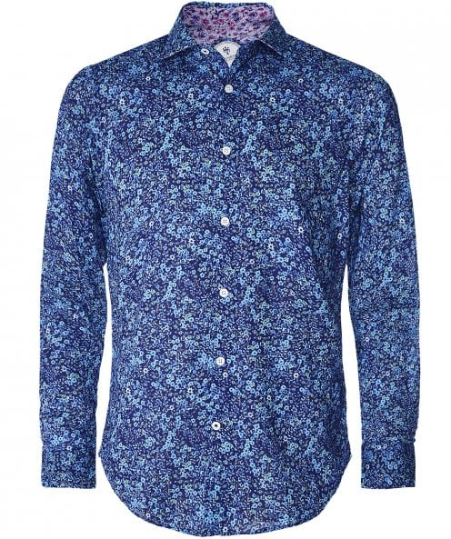 Ganesh Cotton Micro Floral Shirt