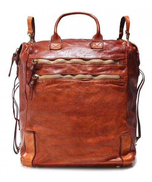 Campomaggi Leather Shopper Backpack