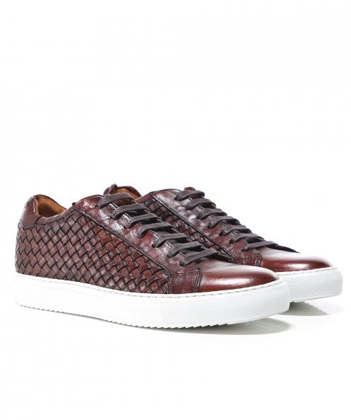 Joss Woven Leather Tuffato Trainers