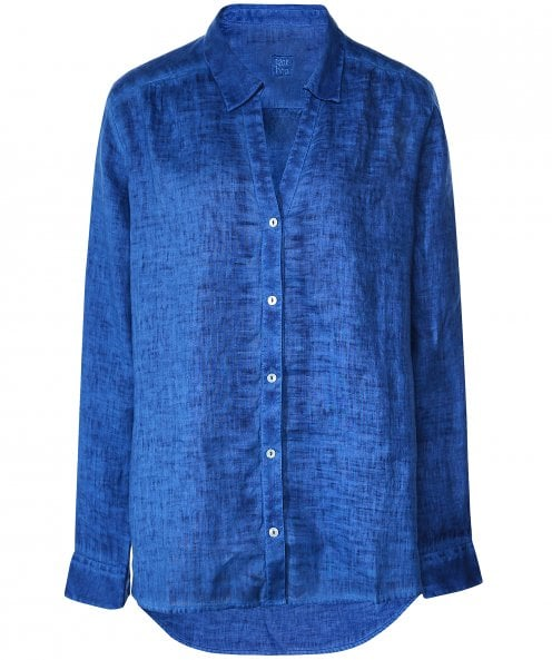 120% Lino Linen Long Sleeve Shirt
