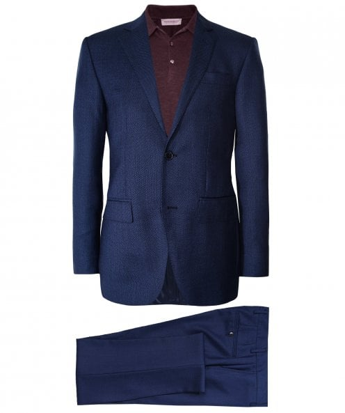 Hackett Wool Birdseye Suit