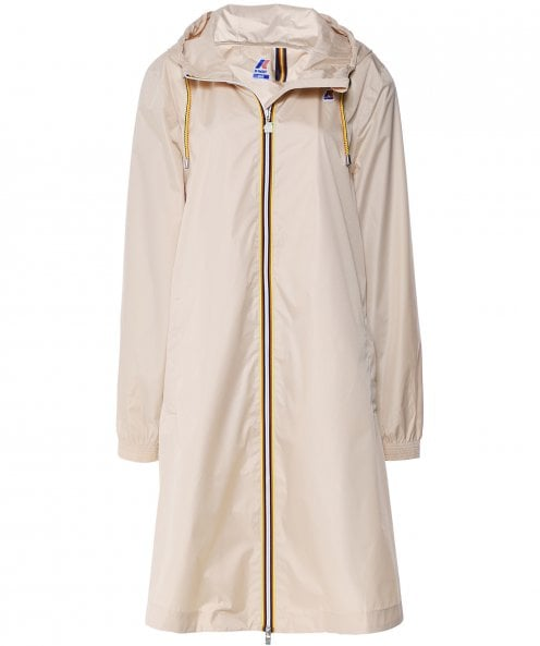 K-Way Water-Resistant Thecle Poly Parka