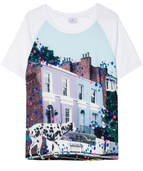 PS by Paul Smith 'Dalmatian Spot' Print T-Shirt