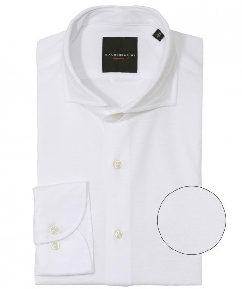 Baldessarini Tailored Fit Pima Cotton Henry Shirt