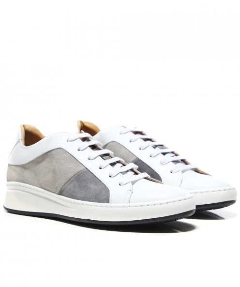 Joss Leather & Suede Panel Trainers