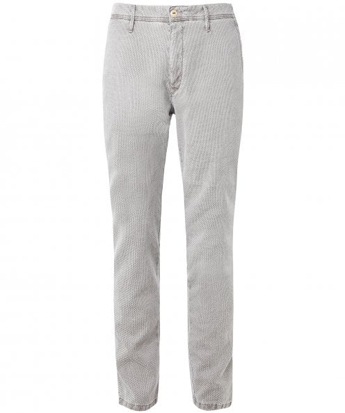 MMX Slim Fit Woven Textured Lupus Trousers