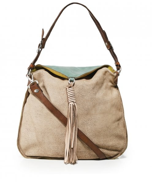 Caterina Lucchi Contrast Leather Shoulder Bag