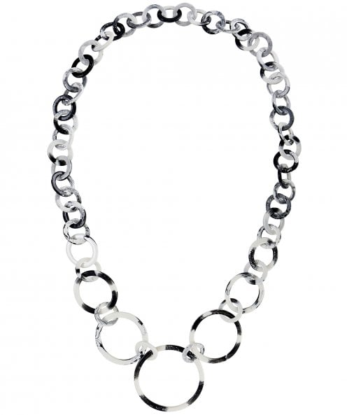 Nouv-Elle Long Monochrome Link Necklace