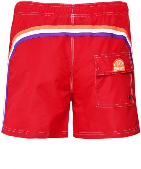 Sundek Mid-Length Board Shorts