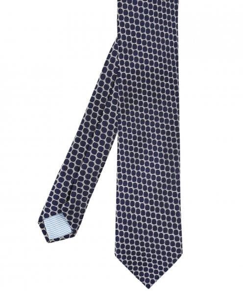 Stenstroms Silk Polka Dot Tie
