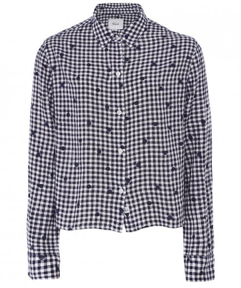 Rails Linen Blend Audrey Gingham Shirt
