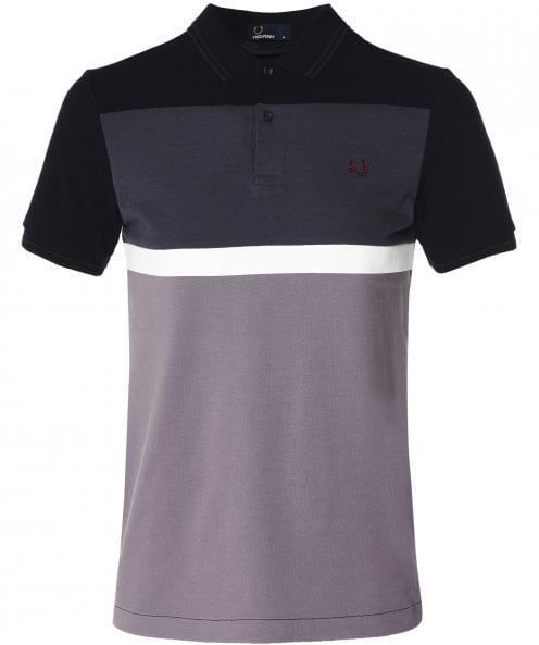 Fred Perry Blocked Panel Polo Shirt M6519 102