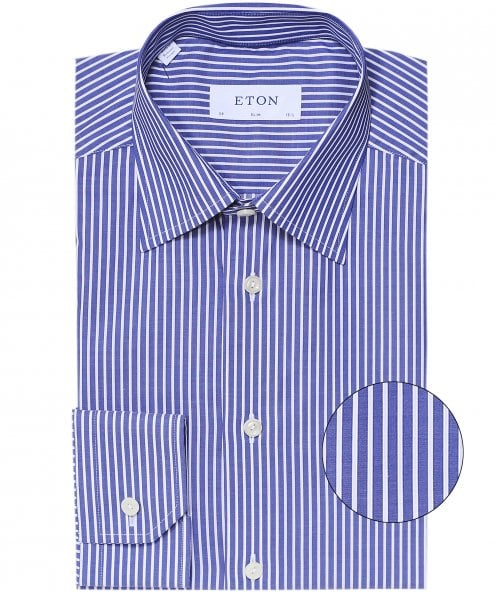 Eton Slim Fit Bold Stripe Shirt