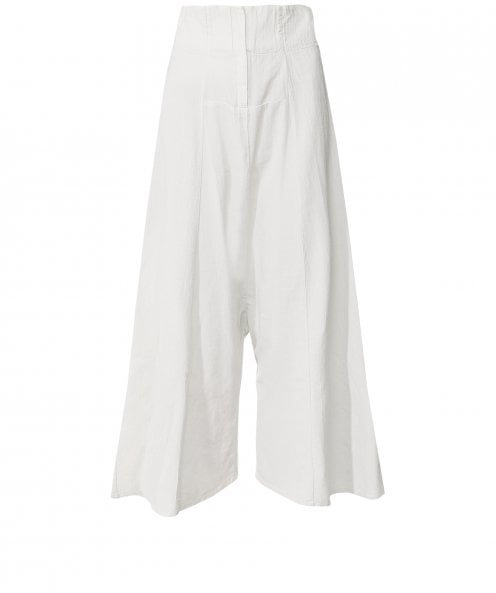 Lurdes Bergada Stark Wide Leg Cropped Trousers