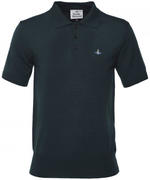 Vivienne Westwood Man Virgin Wool Classic Polo Shirt