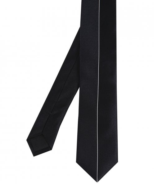BOSS Silk Contrast Textured Tie