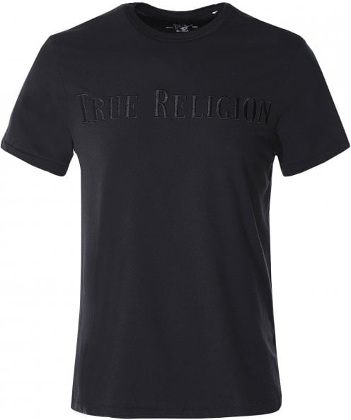 True Religion Embroidered Logo T-Shirt