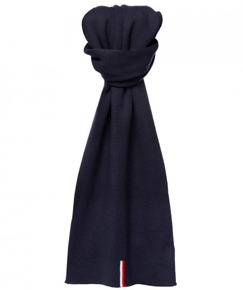 Tommy Hilfiger Cotton Ribbed Scarf