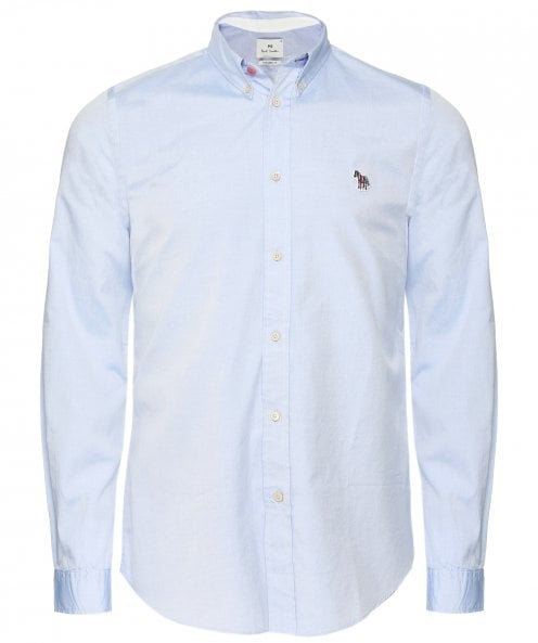 Paul Smith Tailored Fit Zebra Oxford Shirt