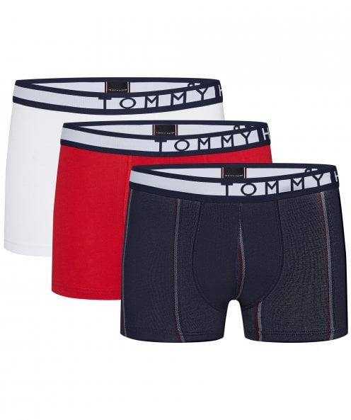 Tommy Hilfiger Stretch Cotton Trunks Three Pack