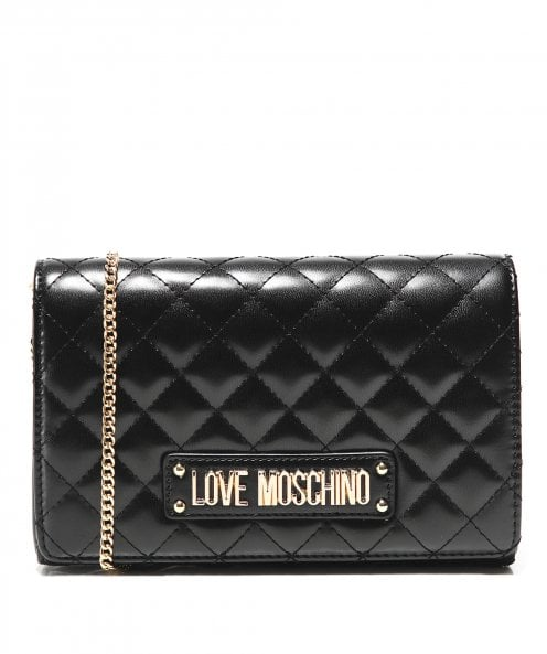 Moschino Love Moschino Quilted Chain Bag