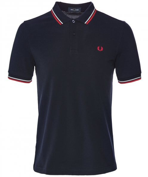 Fred Perry Twin Tipped Polo Shirt M3600 471