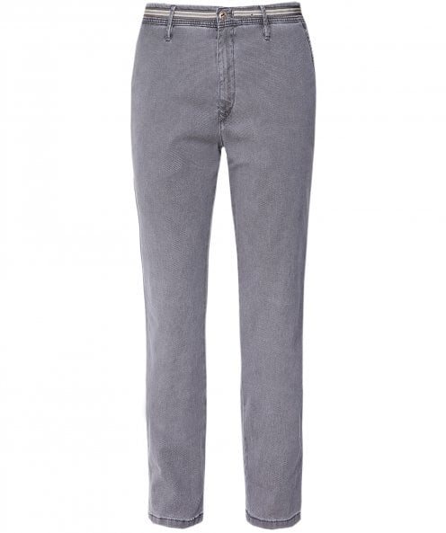 MMX Slim Fit Textured Apus Trousers