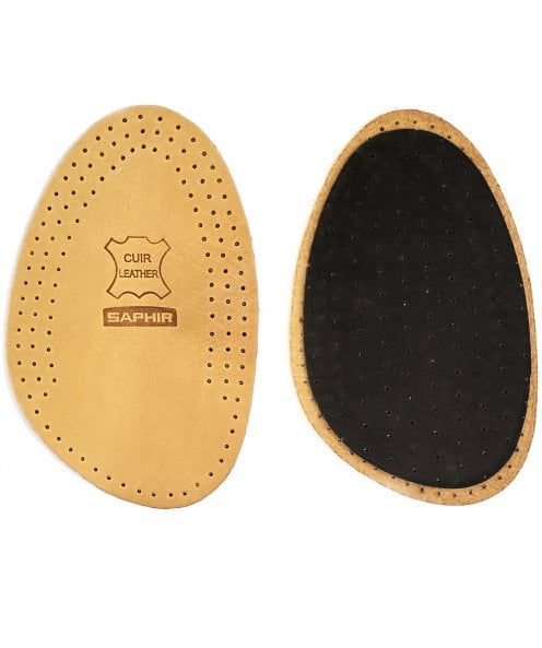 Saphir EU 39/40 Leather on Charcoal Half Insoles