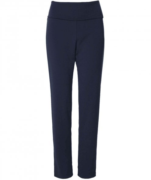 Crea Concept Fold Over Stretch Fit Trousers