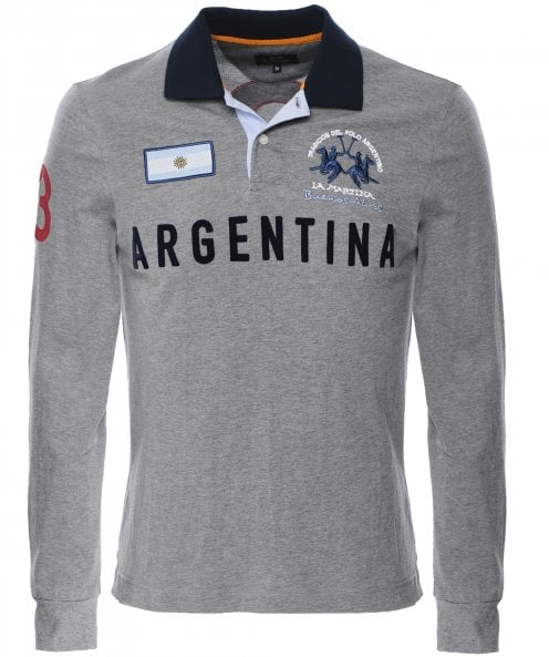 La Martina Regular Fit Long Sleeve Ottmar Polo Shirt