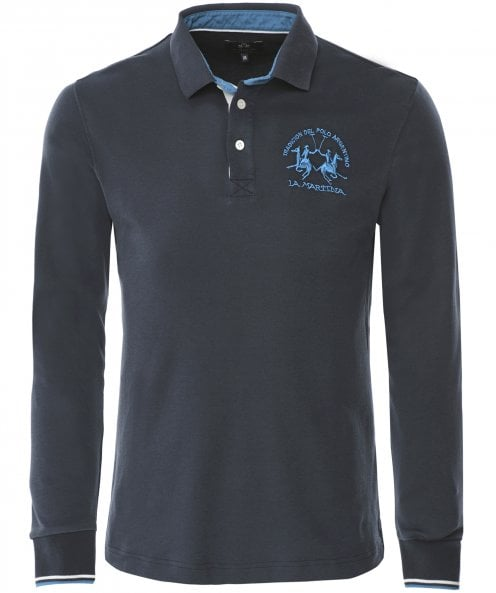 La Martina Regular Fit Long Sleeve Arnulfo Polo Shirt