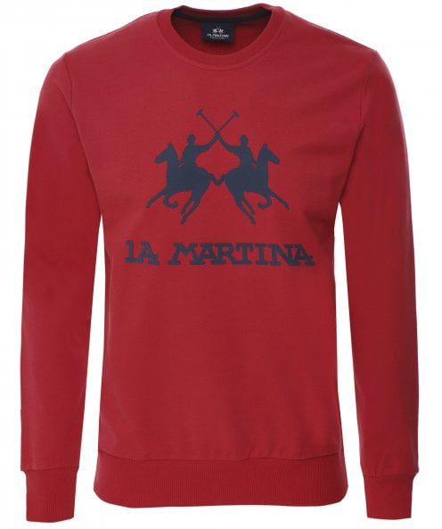 La Martina Regular Fit Crew Neck Domingo Sweatshirt