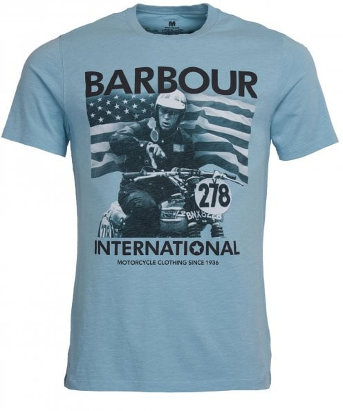 Barbour International Crew Neck Time T-Shirt