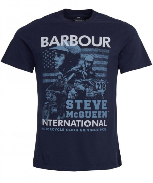 Barbour International Crew Neck Collage T-Shirt