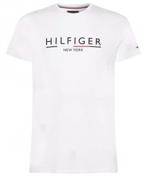 Tommy Hilfiger Organic Cotton Underline T-Shirt