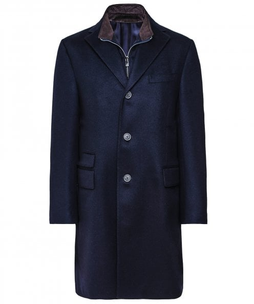 Corneliani Virgin Wool Overcoat