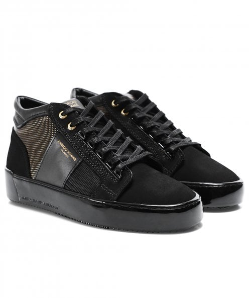 Android Homme Gloss Carbon Propulsion Mid Geo Trainers